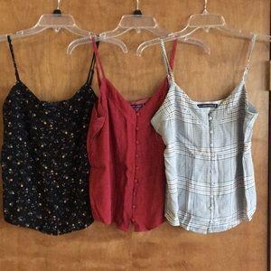 3-Pack Abercrombie Camis